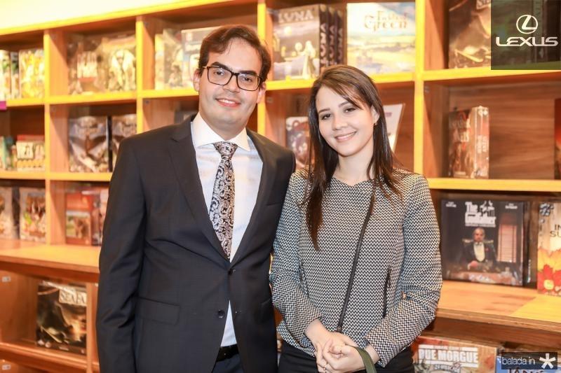Leonardo Borges e Natalia Marques