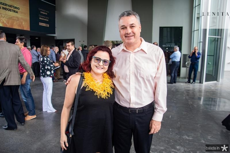 Vladia Lima e Marcos Rocha