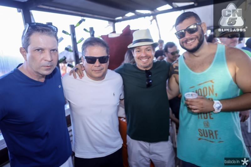 Paulo Mendonça, Regis Diogenes, Claudio Cavalcante e Rodrigo Muniz