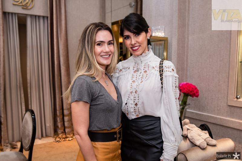 Tatiana Feitosa e Flavia Laprovitera