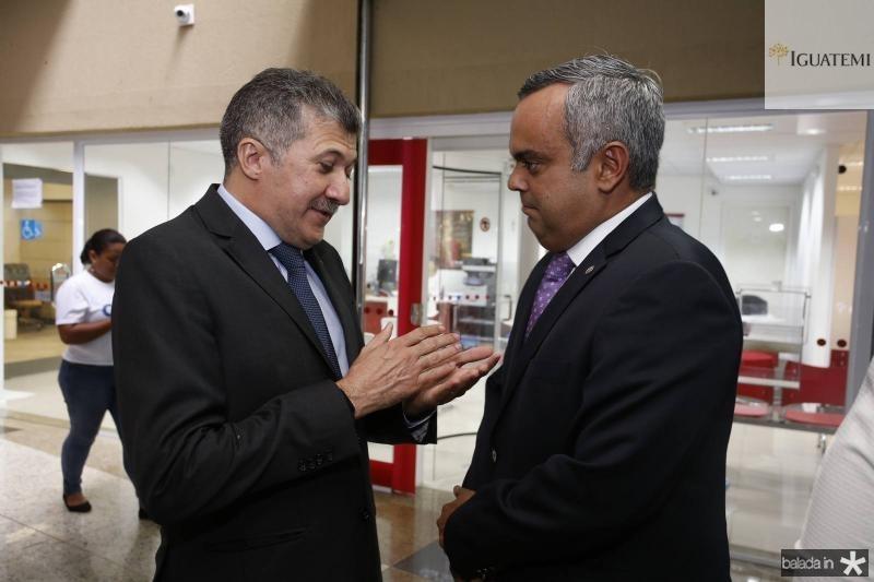 Antonio Henrique e Marcelo Mota