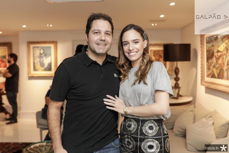 Fernando Diniz e Gabriela Fonseca