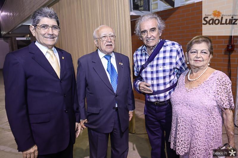Jose Augusto Bezerra, Ubiratan Aguiar, Lucio Brasileiro e Terezita Aguiar