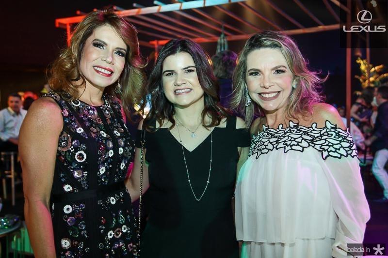 Maira Silva, Ticiana Brigido e Lilian Porto