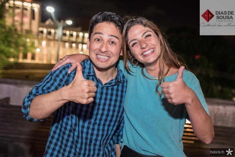 Keith Matsumoto e Laura Bordini