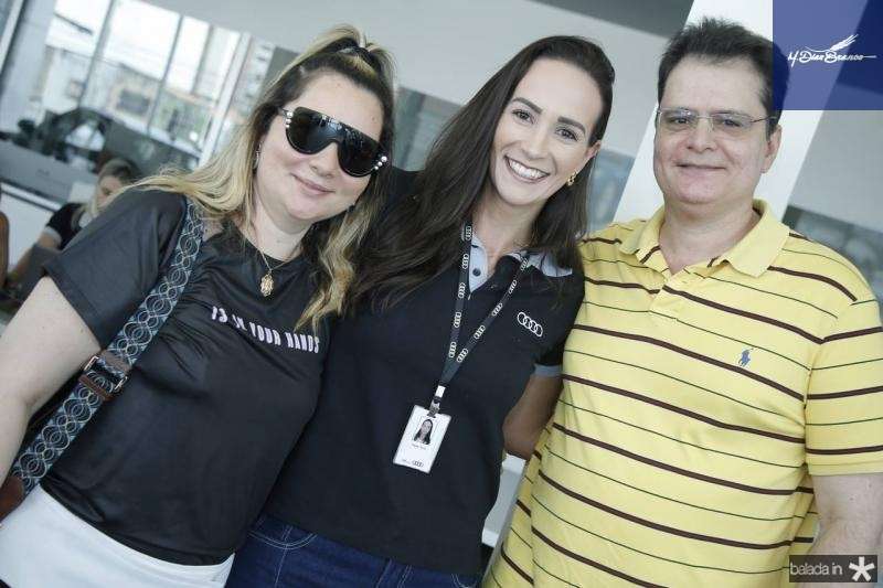 Soraya Pinheiro, Deyse Terra e Walter Pinheiro