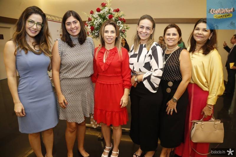 Adamir Macedo, Milena Auipe, Suemi e Leliane Vasconcelos, Micheline Camasso e Celina Castro Alves
