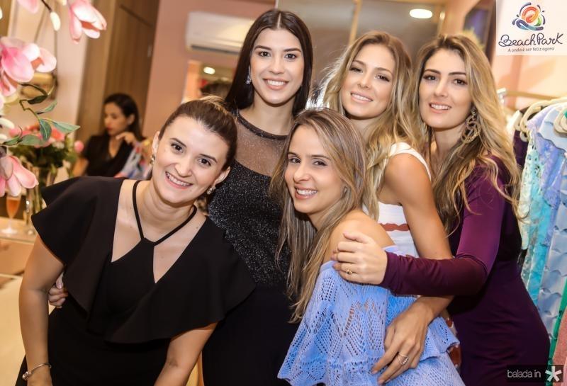 Monique Gurgel, Manoela Pimenta, Ingrid Gurgel,  Bruna Waleska e Melina Dias
