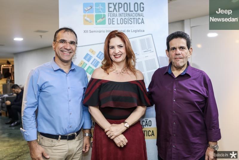 Eduardo Neves, Enid Camara e Roberto Fontenele