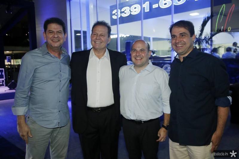 Cid Gomes, Julinho Ventura, Roberto Claudio e Salmito Filho 2