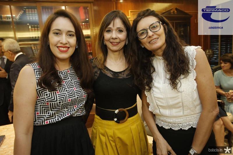 Camila Carneiro, Carmen Ines e Gilvana Linhares