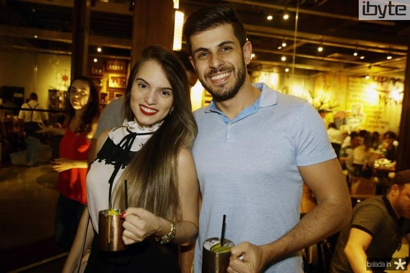 Barbara Mendes e Frederico Basilio