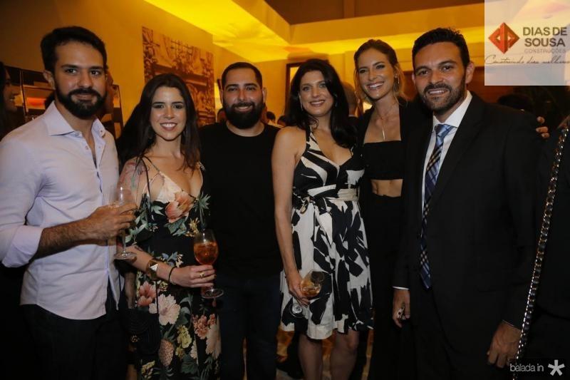 Jorge case, Loise Nobrega, Luiz Victor, Renata Vieira, Dany Gondim e Clovis Holanda