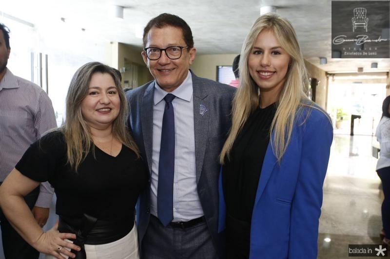 Lane Costa, Elpidio Nogueira e Adrielle Teixeira