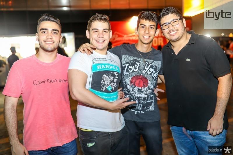 Gabriel Ximenes, Natan Gregorio, Marcos Brito e Vitor Menezes