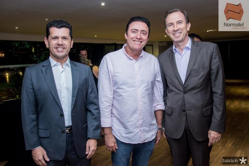 Erick Vasconcelos, Darlan Leite e Philippe Godefroit