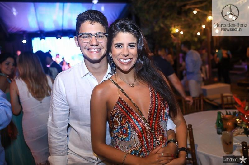 Otavio Queiroz Filho e Marcela Pinto