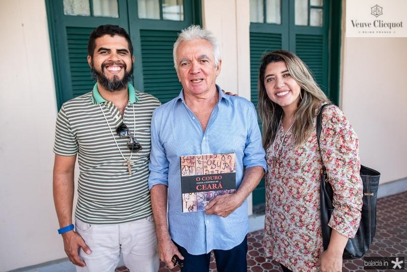 Paulo da Silva, Candido Couto e Alana Bosner