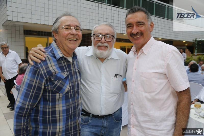Pedro Gomes de Matos, Nilo Sergio e Artur Bruno
