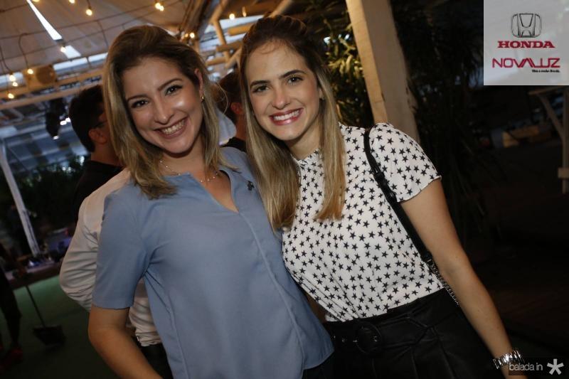 Leliane Pinheiro e Darle Oliveira