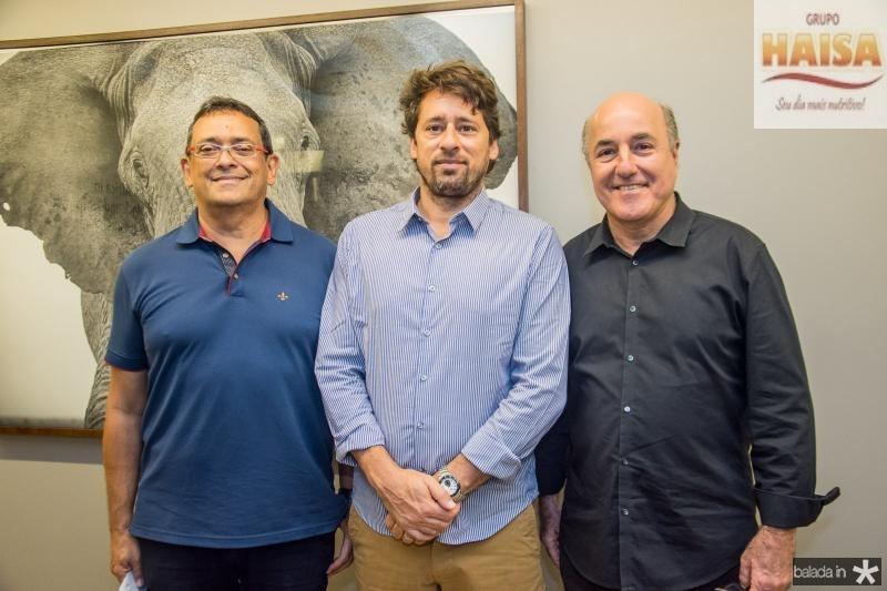 José Guedes, Christian Cravo e Silvio Frota
