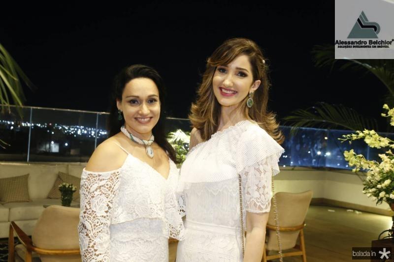 Carmen Pompeu e Sarah Gondim