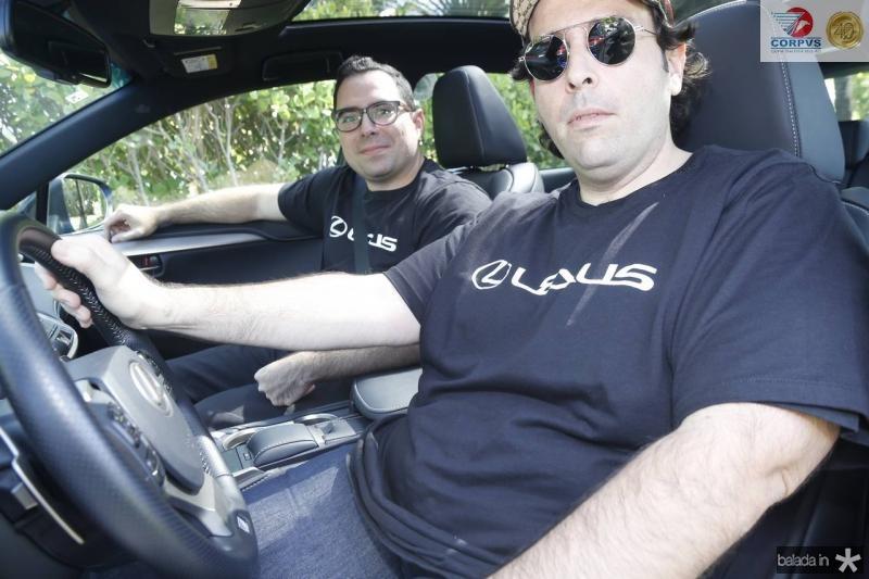 Rodrigo Martins e Regis Benevides