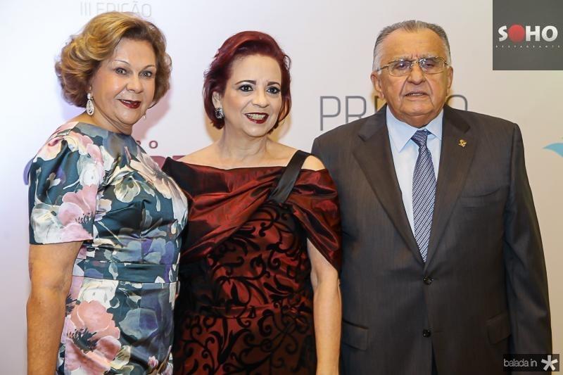 Auxiliadora Paes Mendonça, Jaqueline Fiuza e Joao Carlos Paes Mendonça