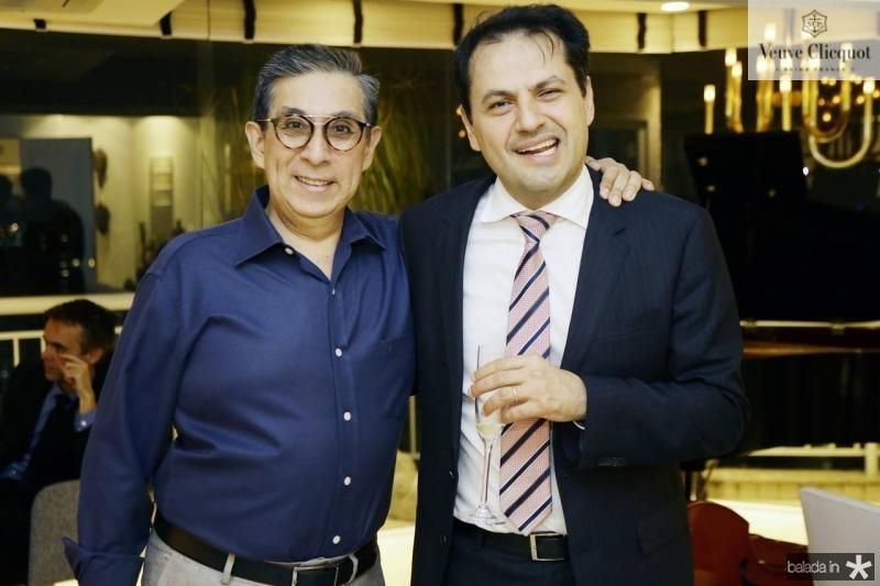 Javier Yugar e Mauricio Maia