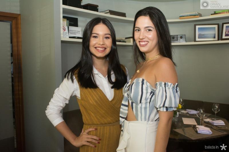 Lydia Duarte e Leticia Arraes