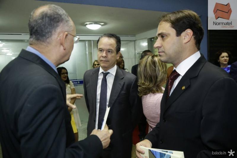 Caminha, Lisandro Fujita e Salmito Filho
