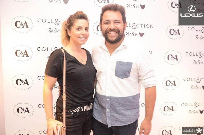 Marina Ascar e Leo }Galvao