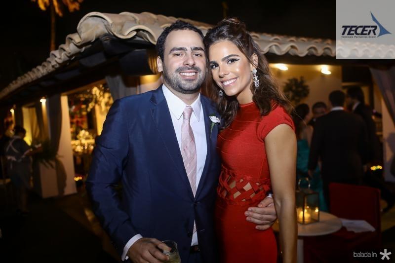 Rodrigo Ventura e Alice Diniz