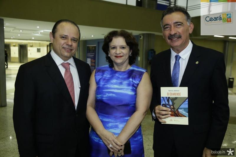 Claudio e Maria do Carmo Pinho e Artur Bruno