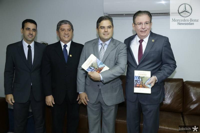 Aluisio e Sampaio Filho, Edson Queiroz Neto e Ricardo Cavalcante