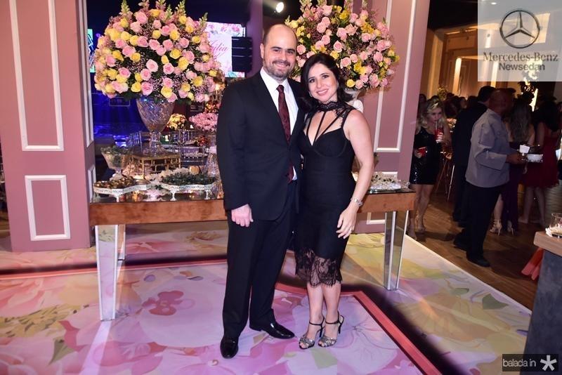 Regis e Mariana Nogueira