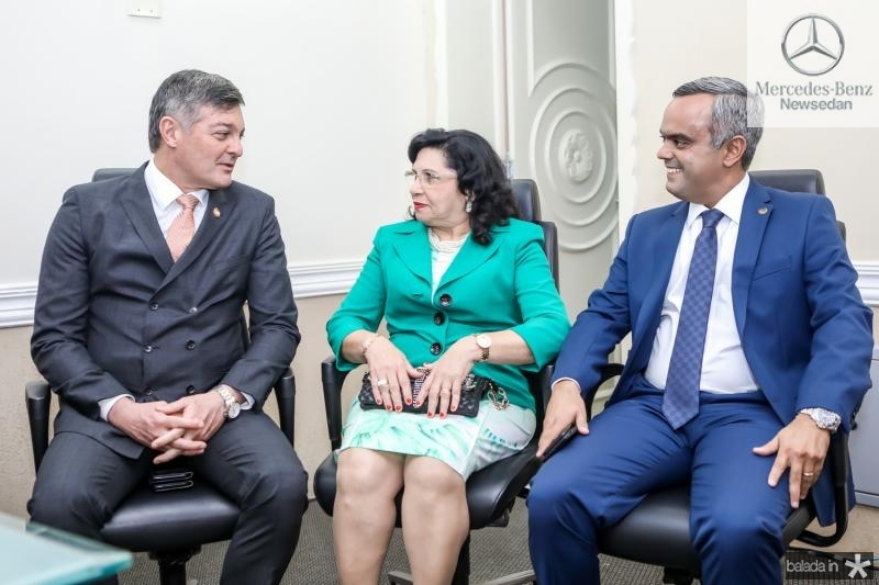 Cid Marconi, Nailde Pinheiro e Marcelo Mota