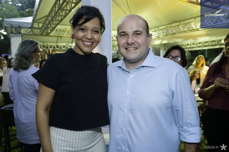 Priscila Costa e Roberto Claudio