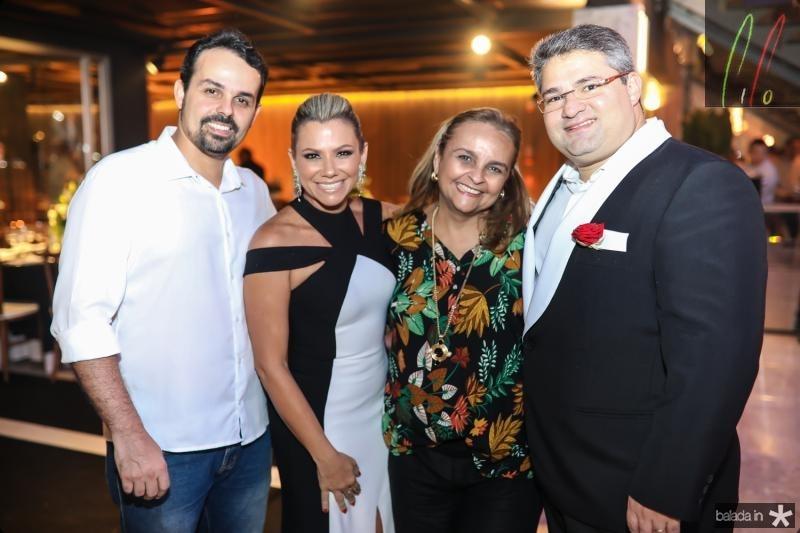 Neno Sampaio, Vanessa Queiros, Toca Couto e Mario Queiros