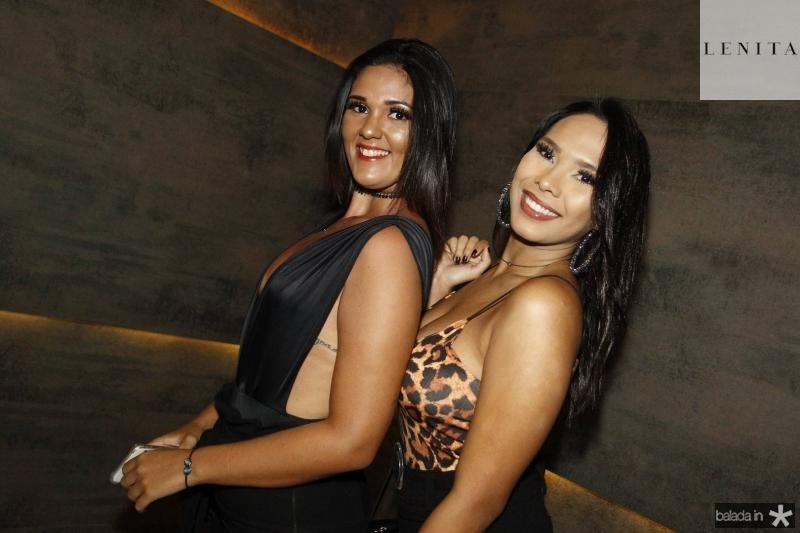Bianca Lara e Mariana Pimentel