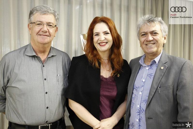 Carlos Maia, Enid Camara e Clovis Nogueira