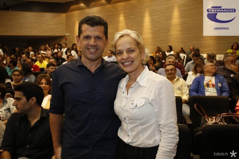 Erick Vasconcelos e Paola Braga