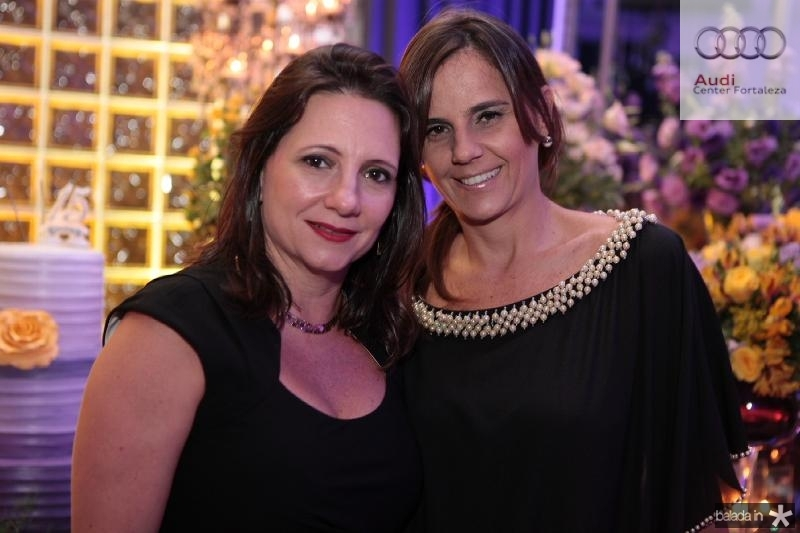 Helen Benevides e Patricia França