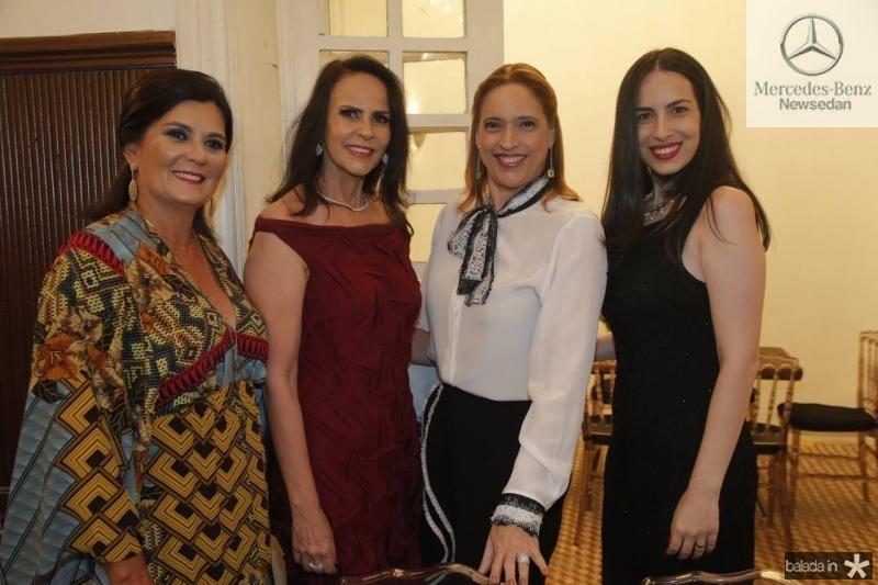 Marcia Aguiar, Katherine Ary, Ana Claudia Canamary e Larissa Gentil