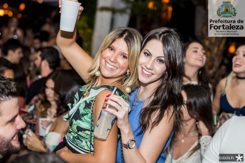 Raquel Xavier e Nathalia Brasil