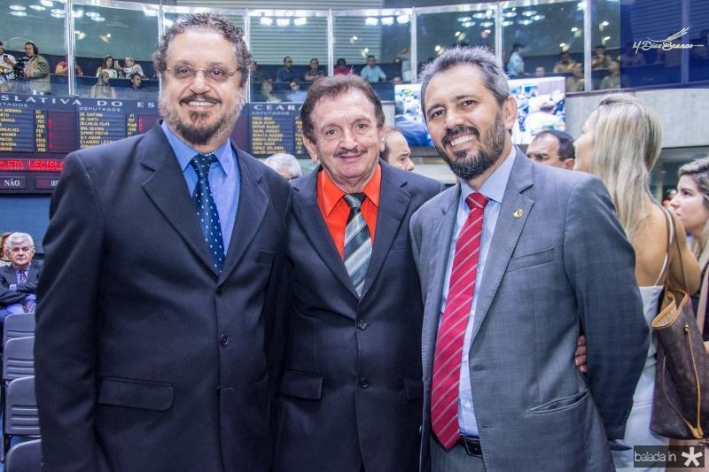 Eduardo Barbosa, Bartolomeu Cavalcante e Elbano de Freitas