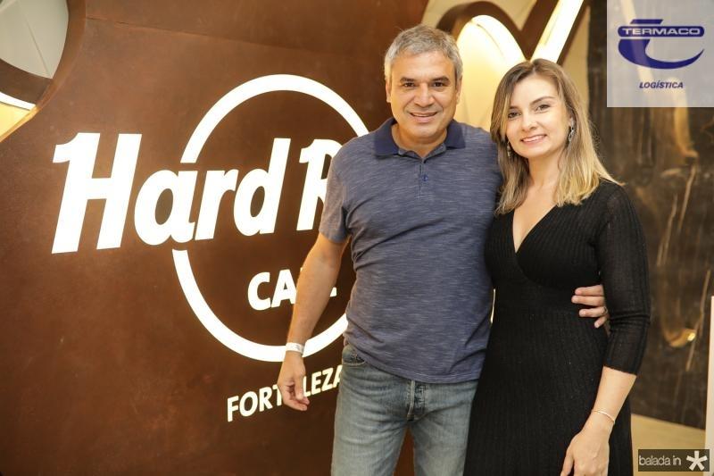 Wagner Vasconcelos e Mariana Dias