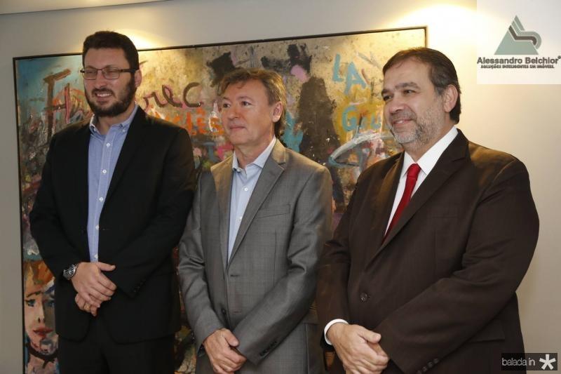 Rodrigo Leite, Mauricio Filizola e Hugo Leao 2