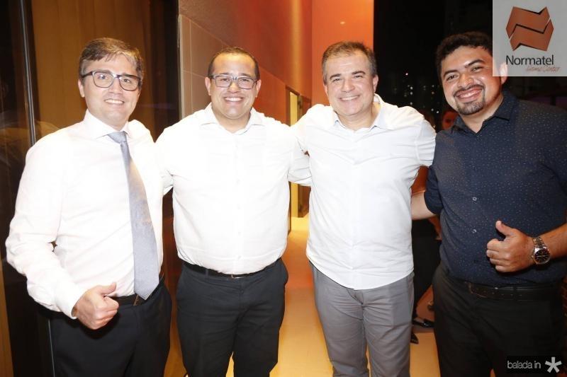 Fred Vieira, Marcio Andrade, Ricardo Bezerra e Jorge Nassar
