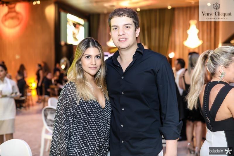 Jessica Guimaraes e Guilherme Colares